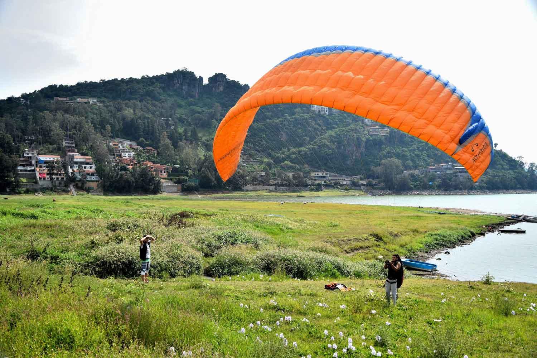 Valle de Bravo ofrece una amplia variedad de actividades recreativas y deportivas para practicar por tierra, agua y aire
