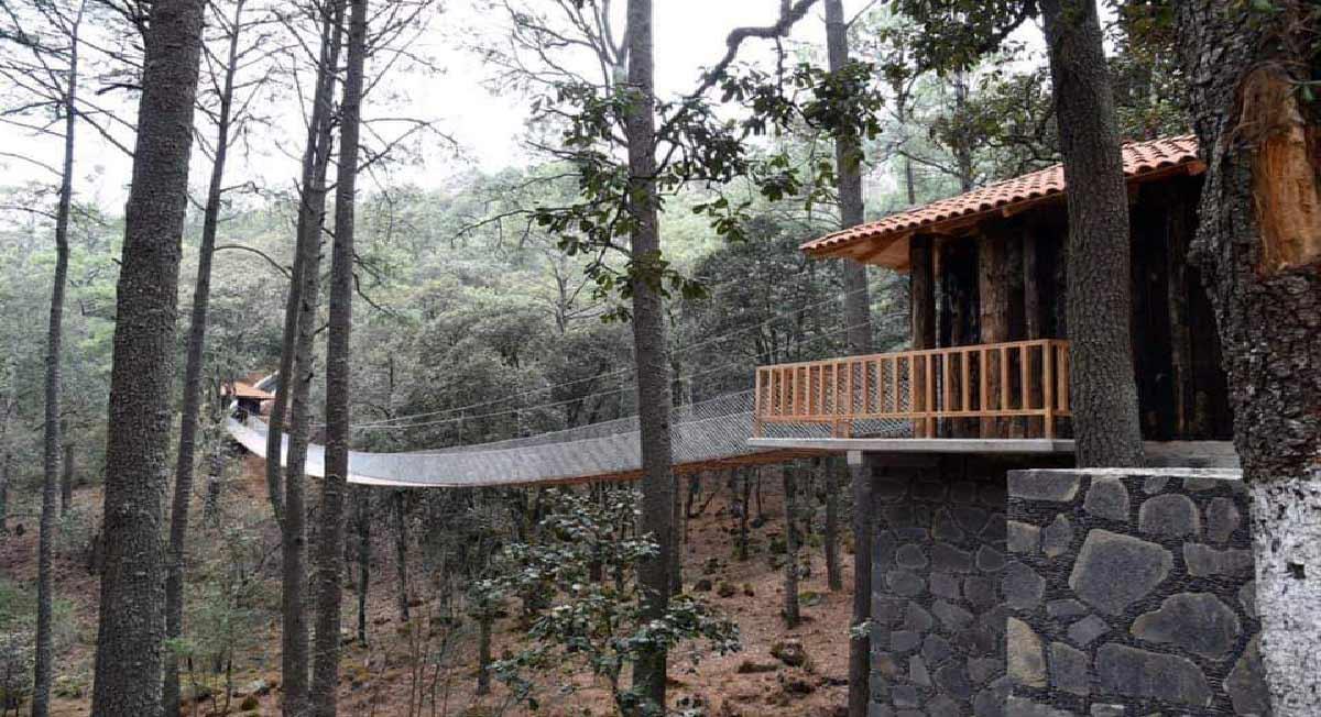 Te recomendamos visitar el Parque Ecológico Xocotépelt, Jocotitlán, Estado de México en Semana Santa, pues este espacio cuenta con zona de camping, tirolesa, rápel, gotcha, áreas de senderismo y más