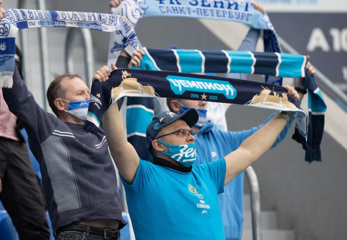 El Zenit, equipo de la Liga Premier de Rusia, vacunará contra COVID-19 a aficionados en sus partidos de local en la Gazprom Arena