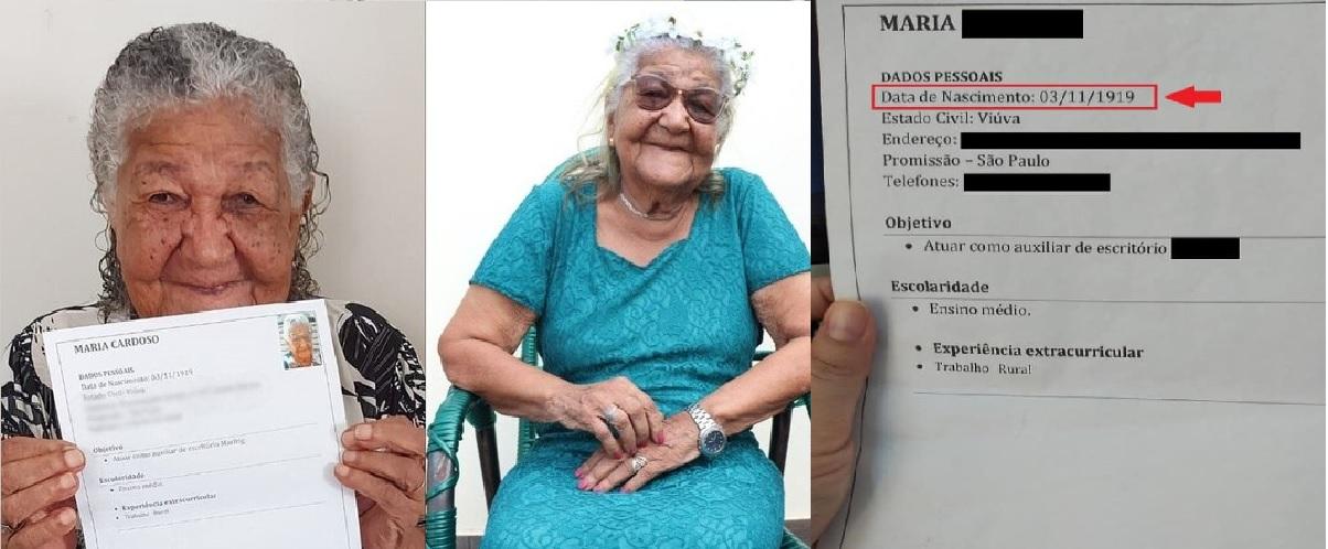 Una tierna abuelita en Brasil nos ha dado una lección a chicos y grandes, pues a pesar de su avanzada edad esta mujer no pensó dos veces en mandar su CV a una empresa para poder seguir trabajando.