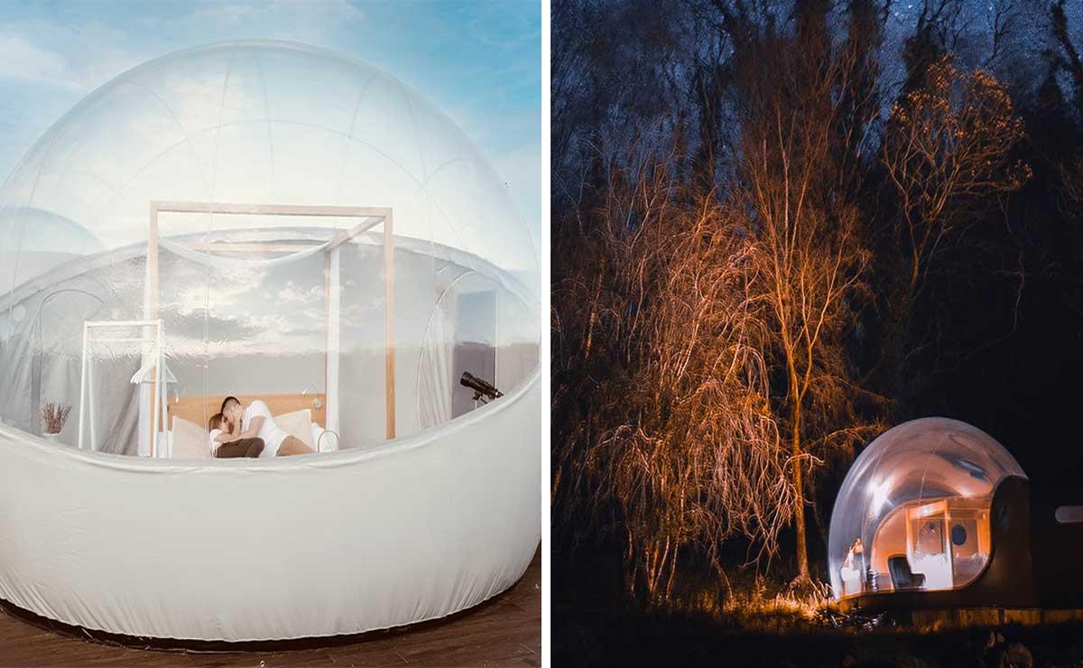 Alpino Bubble el primer hotel burbuja en la CDMX