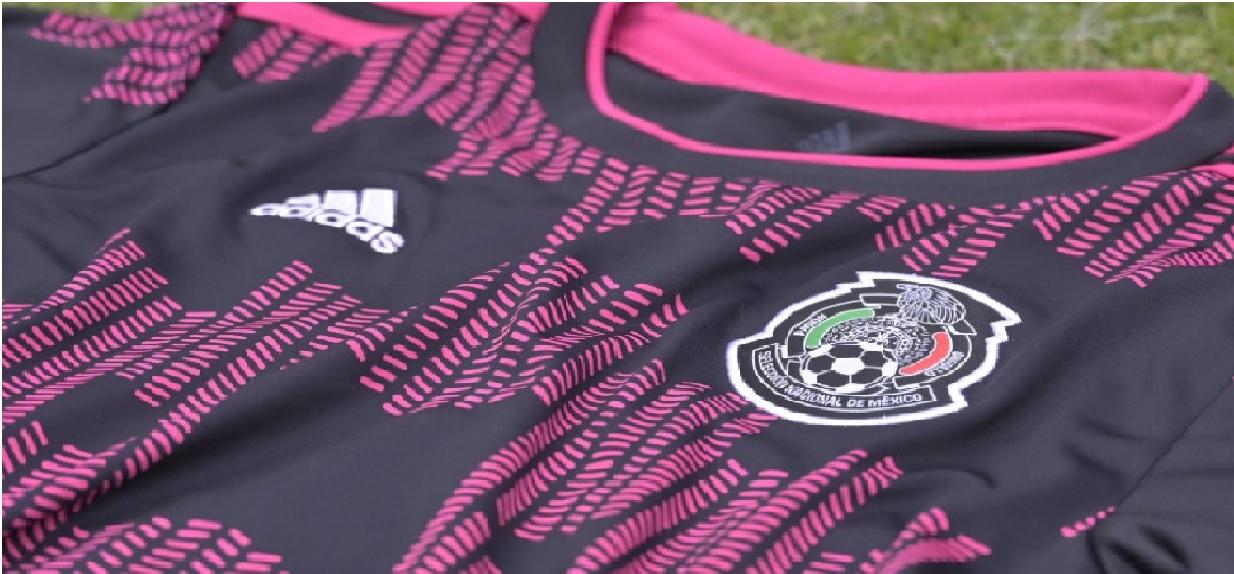 El nuevo jersey que usará la Selección Mexicana es de color negro, sin embargo, destaca por sus detallen en color rosa mexicano