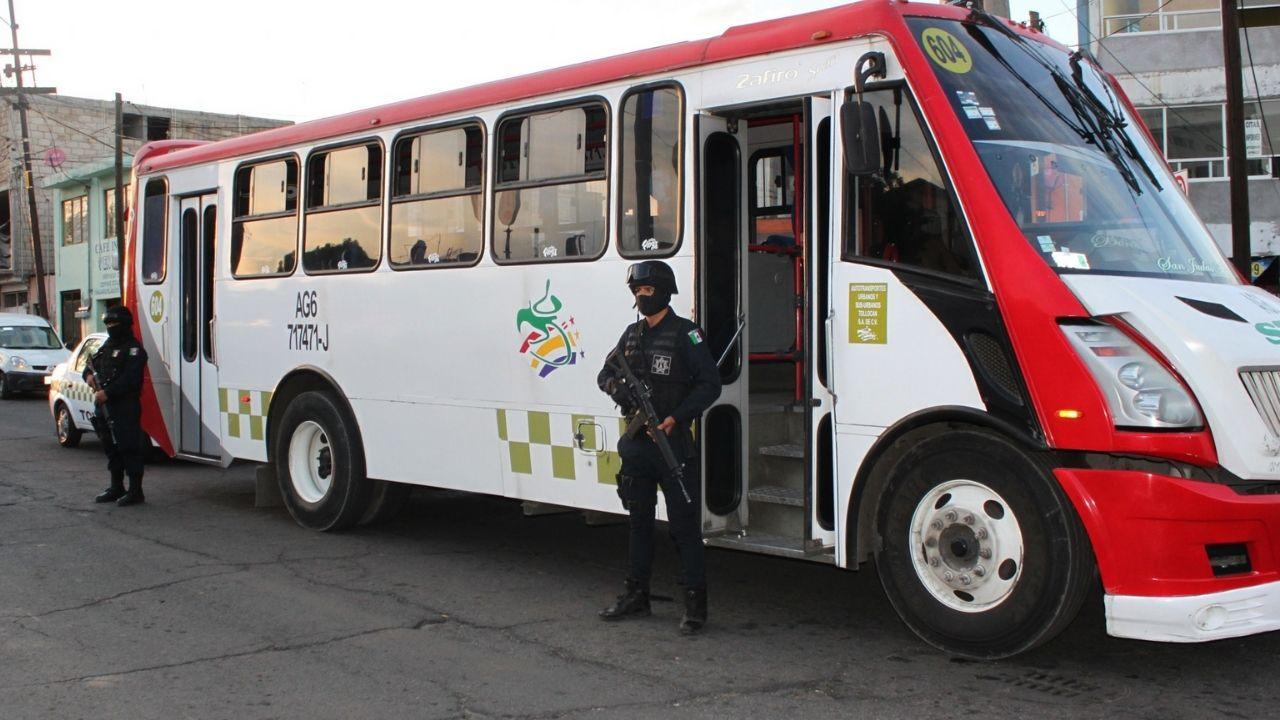 Las rutas del transporte público de toluca más peligrosas