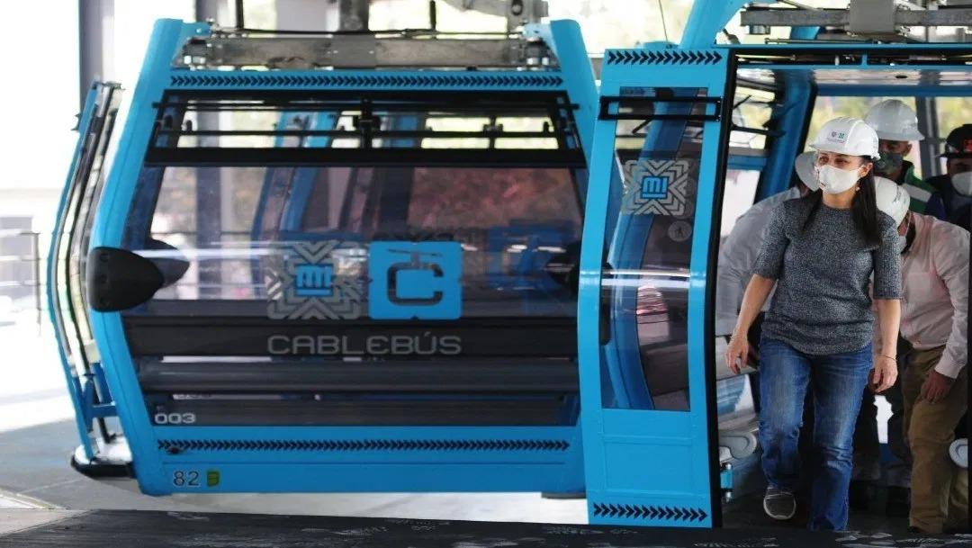 Por su parte, el director general del Servicio de Transportes Eléctricos, Guillermo Calderón, dio a conocer que partir de este 4 de marzo, el sistema de transporte Cablebus brindará servicio gratuito por un mes.