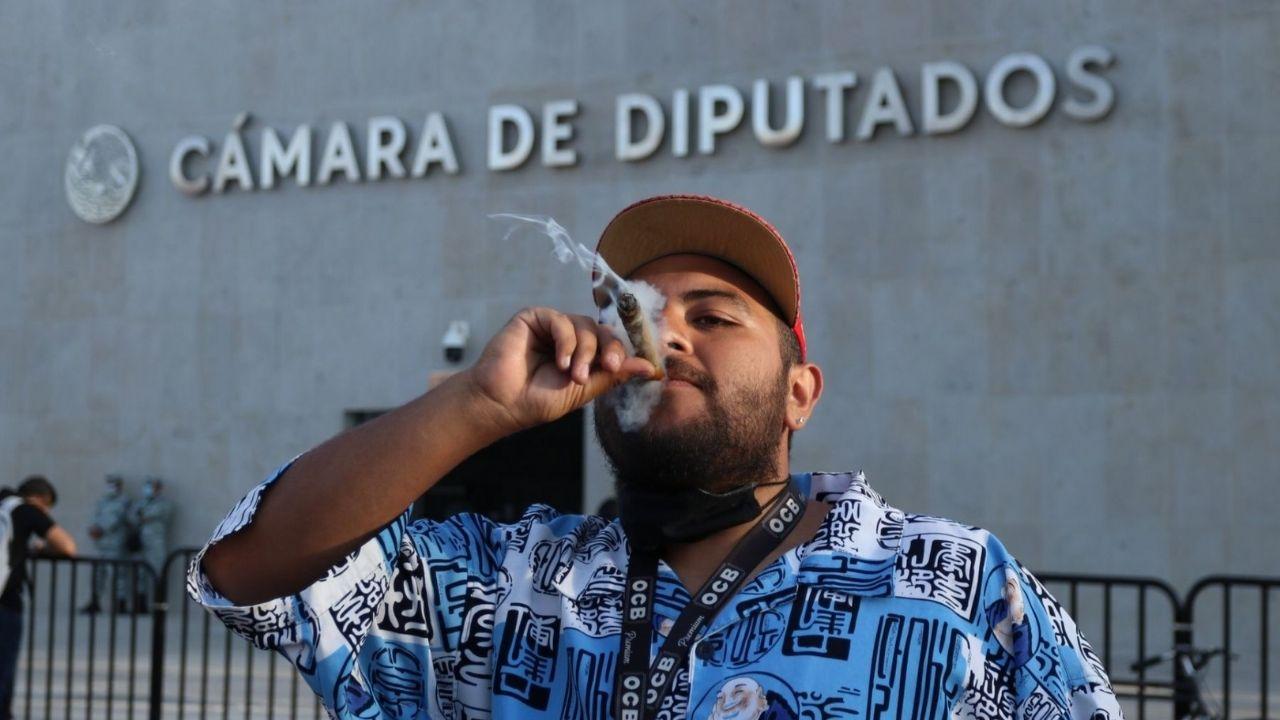 Cámara de Diputados aprueba uso lúdico de la marihuana, se podrá tener hasta 28 gramos de marihuana para el consumo personal, además del cultivo de seis plantas.
