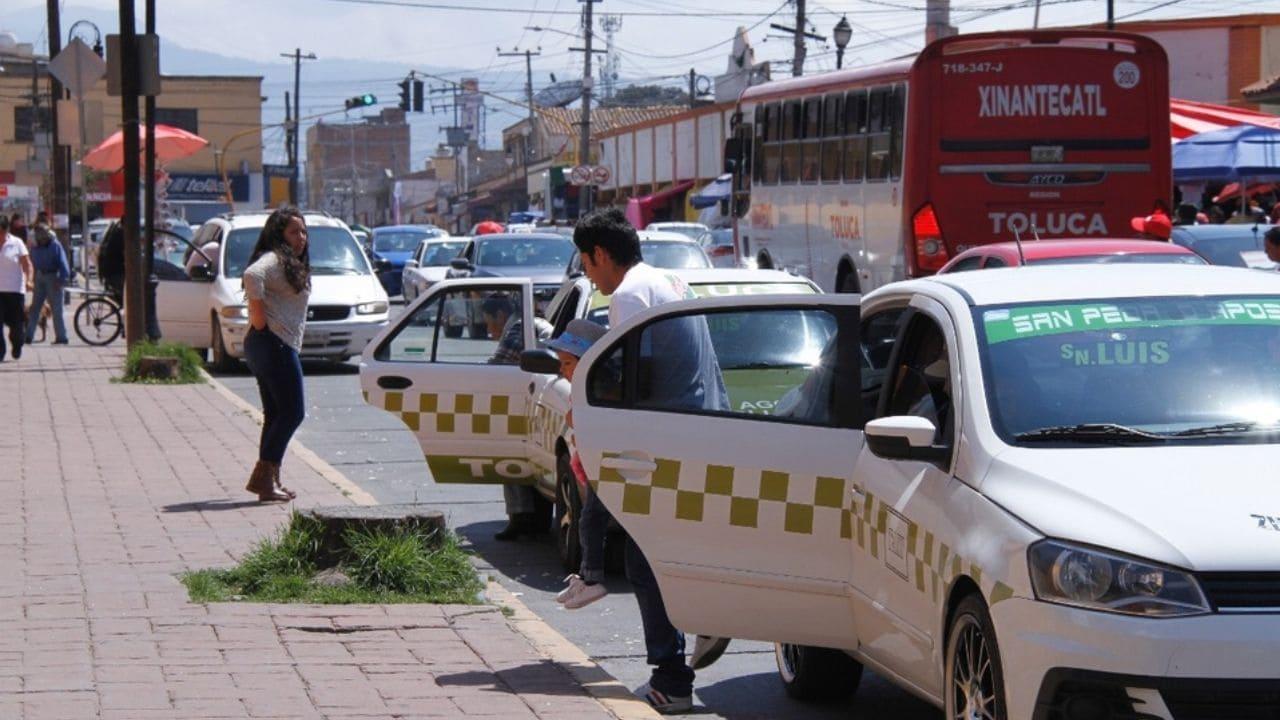 Canapat: Taxistas del Valle de Toluca trabajan para el crimen organizado