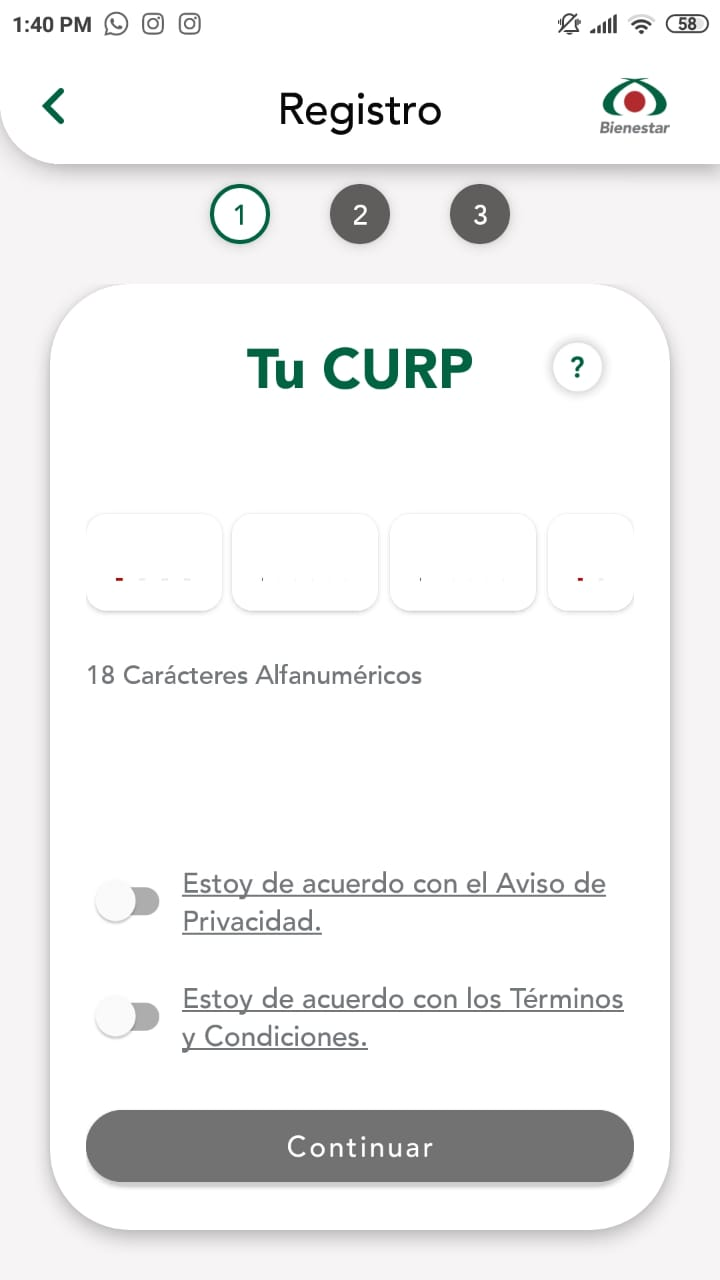 Código qr o de barras imagen ilustrativa de bienestar azteca app