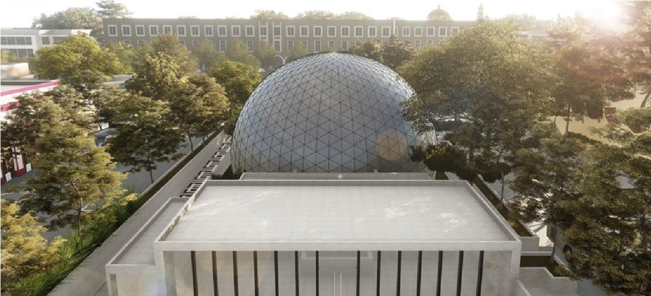 El planetario de Toluca estará ubicado en el corazón de Toluca, para ser exactos en la explanada del Cosmovitral en Toluca.