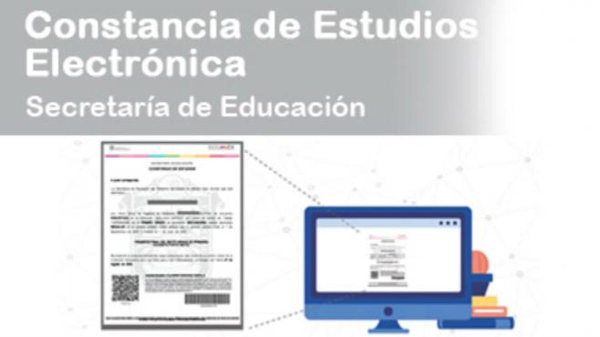 Constancia de estudios electrónica