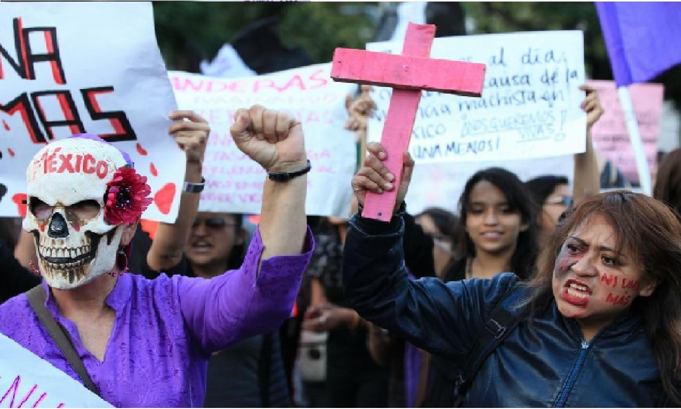 """Debido a la pandemia, la organización """"Ni Una Menos México"""" convoco a quien guste unirse a las protestas virtuales contra los feminicidios en el país el próximo 8 de marzo, día en que se conmemora el Día Internacional de la Mujer lo podrá hacer."""