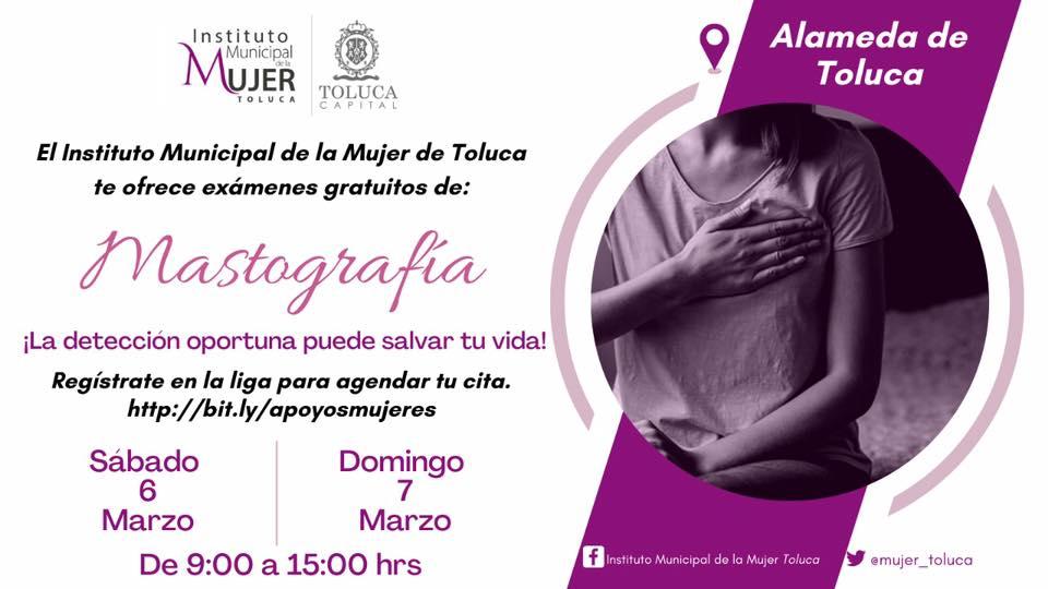 Por su parte, la titular del Instituto Municipal de la Mujer, María de Lourdes Medina Ortega, explicó la importancia de la mastografía.