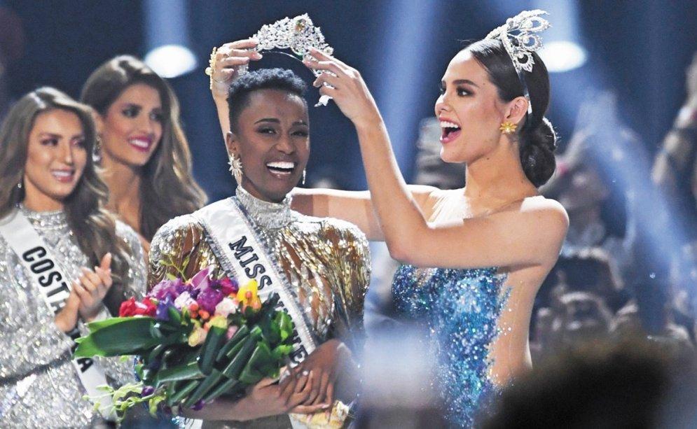 Sudafricana gana el miss universo 2019.
