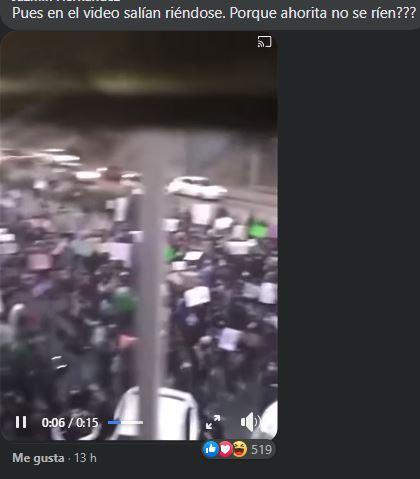 Mujer denunció daños pero revelan video donde se ríen