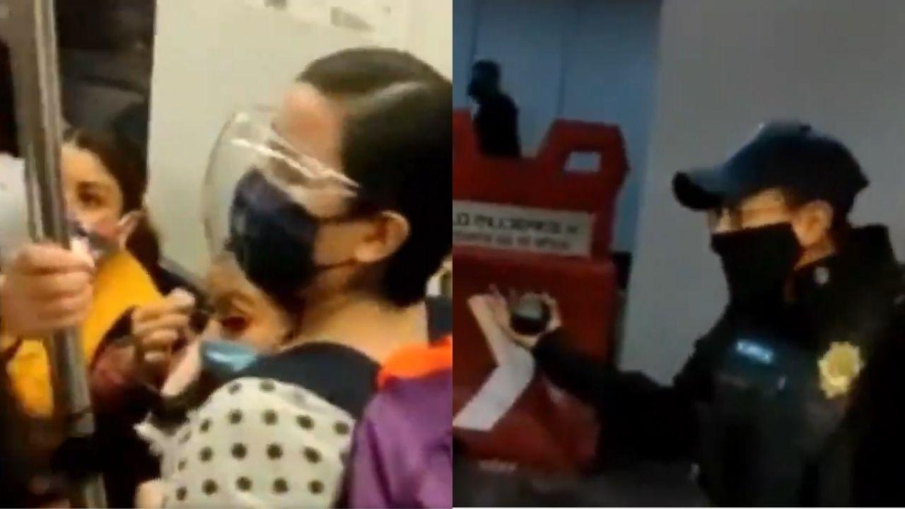 Una mujer trans fue sacada del metro de la CDMX por policías que la discriminaron