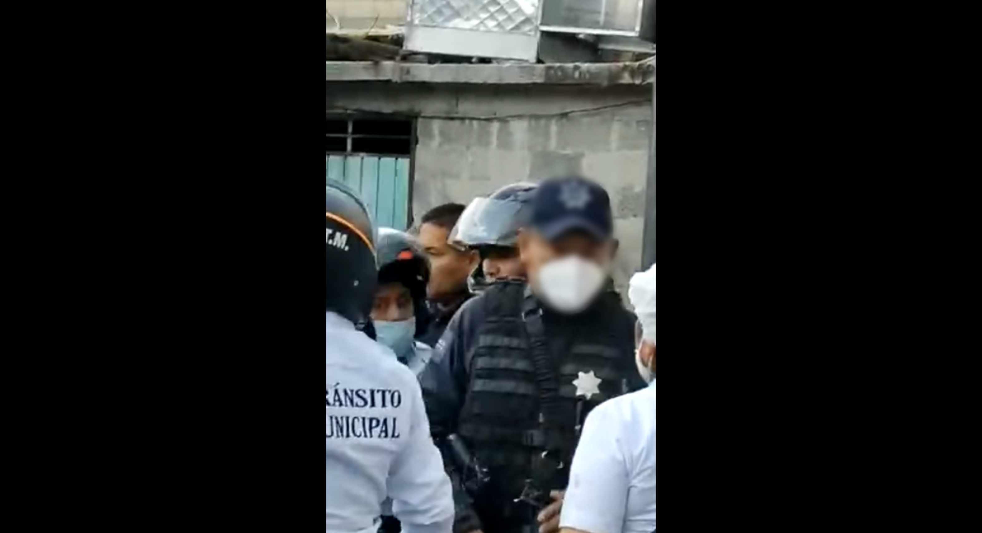 policia dispara contra ciudadano en zinacantepec