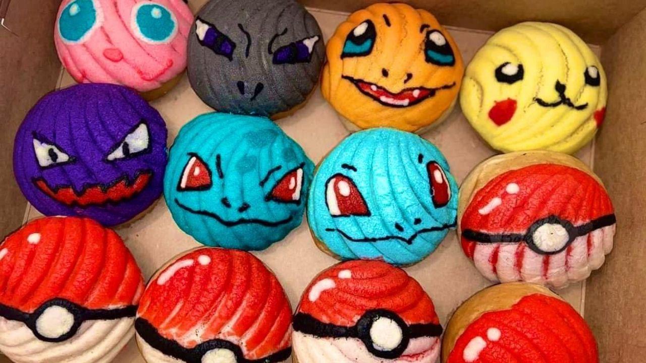 Pokeconchas una nueva creación entre pan dulce y pokemon