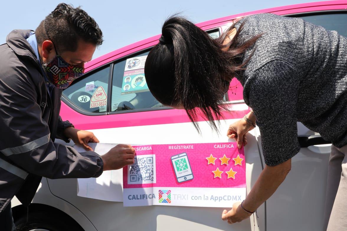 El gobierno de la CDMX sigue habilitando a más taxistas