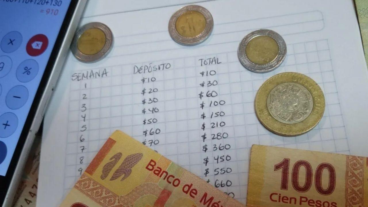 Si eres constante y estás comprometido al cien por ciento con el reto, al final de las 52 semanas habrás logrado ahorrar un total de 13 mil 780 pesos.