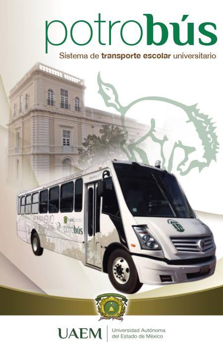 UAEMex anuncio del Potrobús