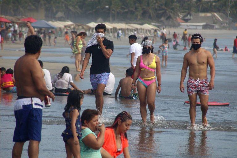 Algunas playas de México dieron a conocer las medidas sanitarias que se estarán implementando durante las vacaciones de semana santa