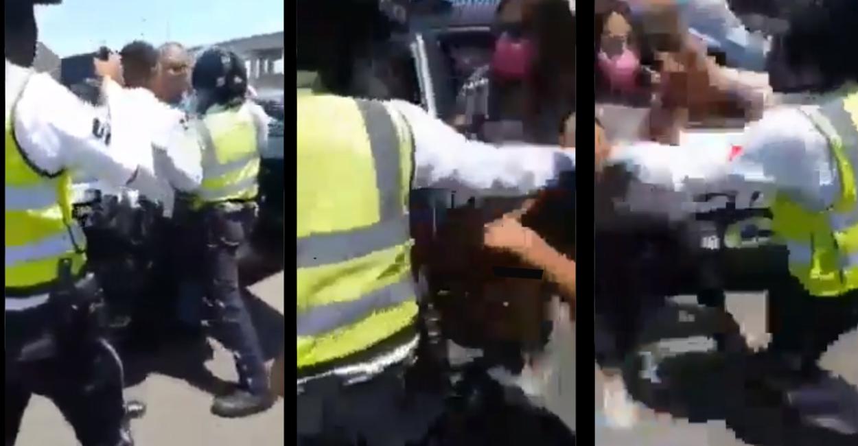 Michoacán registra otro abuso policial ahora a un Adulto Mayor – video