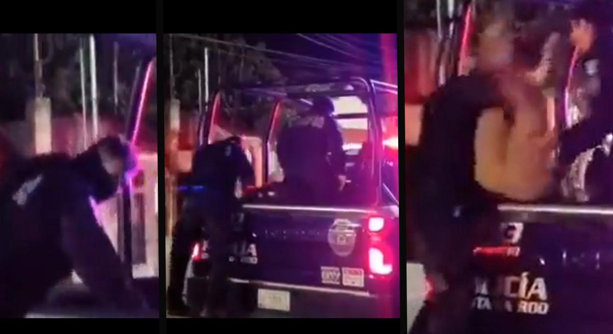 En Tulum otro abuso policial es reportado || VIDEO