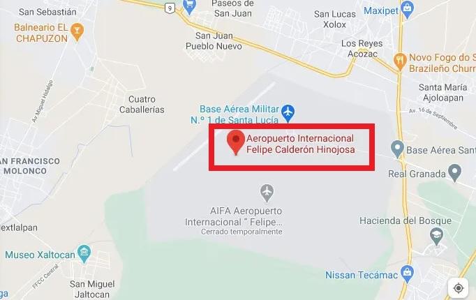 cambian el nombre al Aeropuerto Felipe Angeles