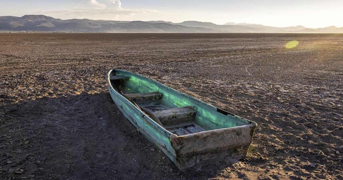 Sequía en México podría acabar de secar el lago de cuitzeo en michoacán