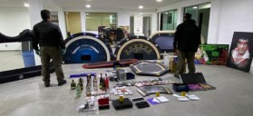 Fue asegurado un casino clandestino en Toluca