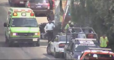 Conductor de camión atropella a motociclista en Lerma Estado de México