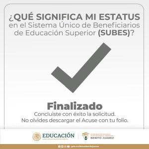los estatus en el Sistema Único de Beneficiarios de Educación Superior (SUBES) son importantes para conocer si serás o no beneficiado, por ello, nosotros te explicamos cada uno de ellos