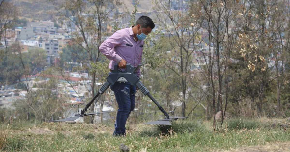 Búsqueda de personas en el estado de méxico será apoyada por radares que identifican elementos a cuarenta metros