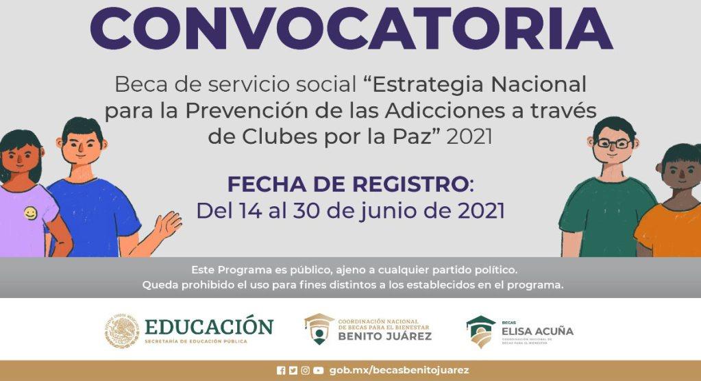 estas son las universidades participantes para la beca benito juárez de servicio social y recibir 10,000 pesos