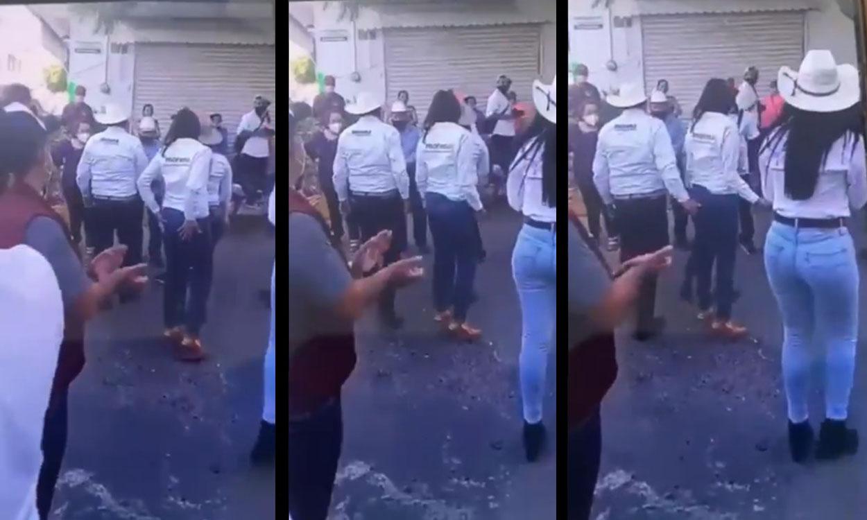 David Monreal toca de manera indebida a su compañera (VIDEO)