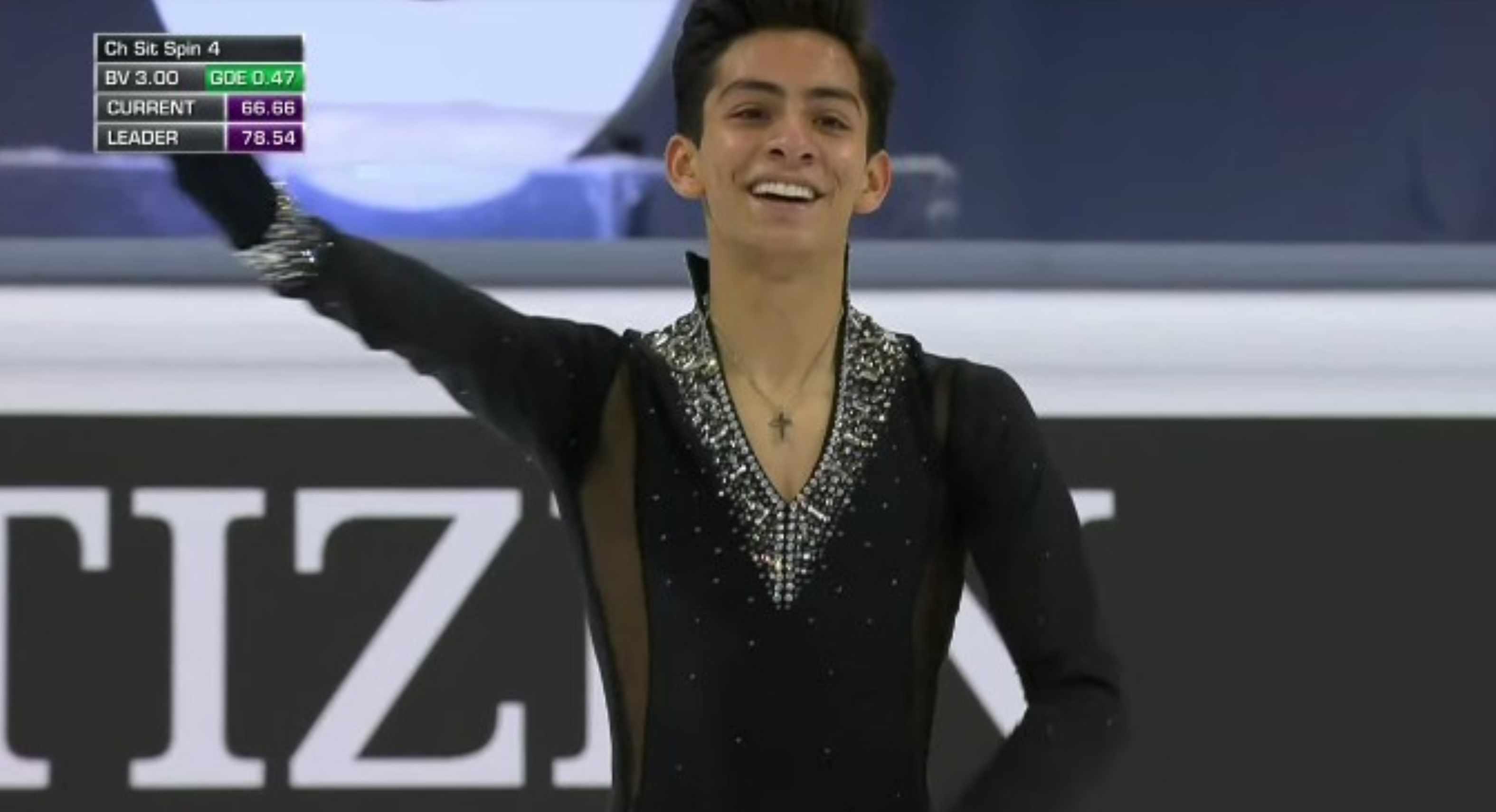 Donovan Carrillo califica a juegos olimpicos de invierno en 2022