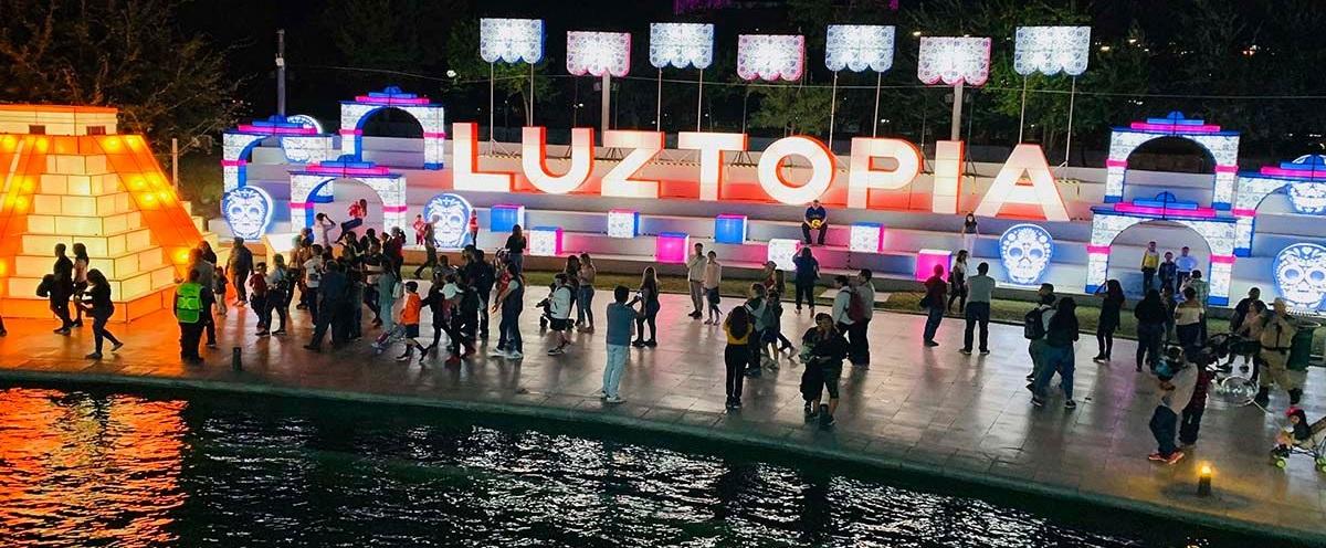 Luztopía regresa al Parque Fundidora en este 2021