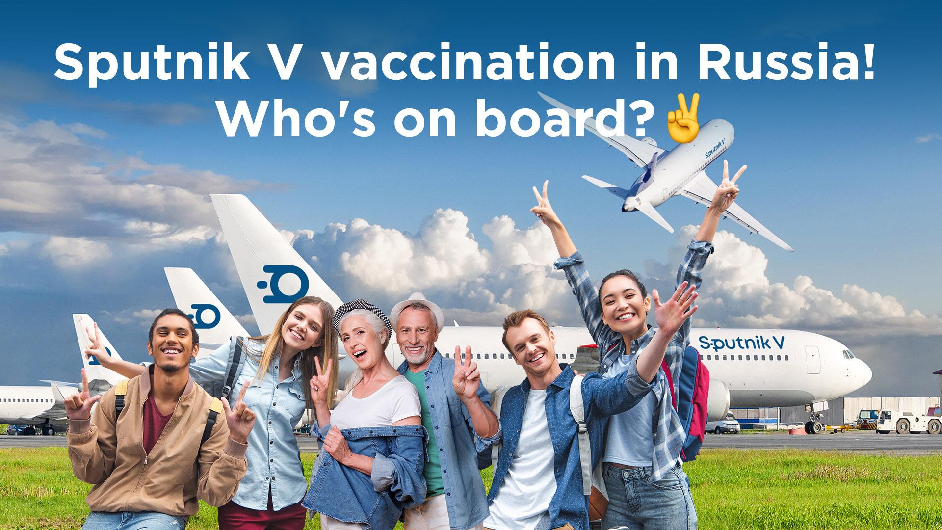 Rusia ofrece viajes para vacunarse