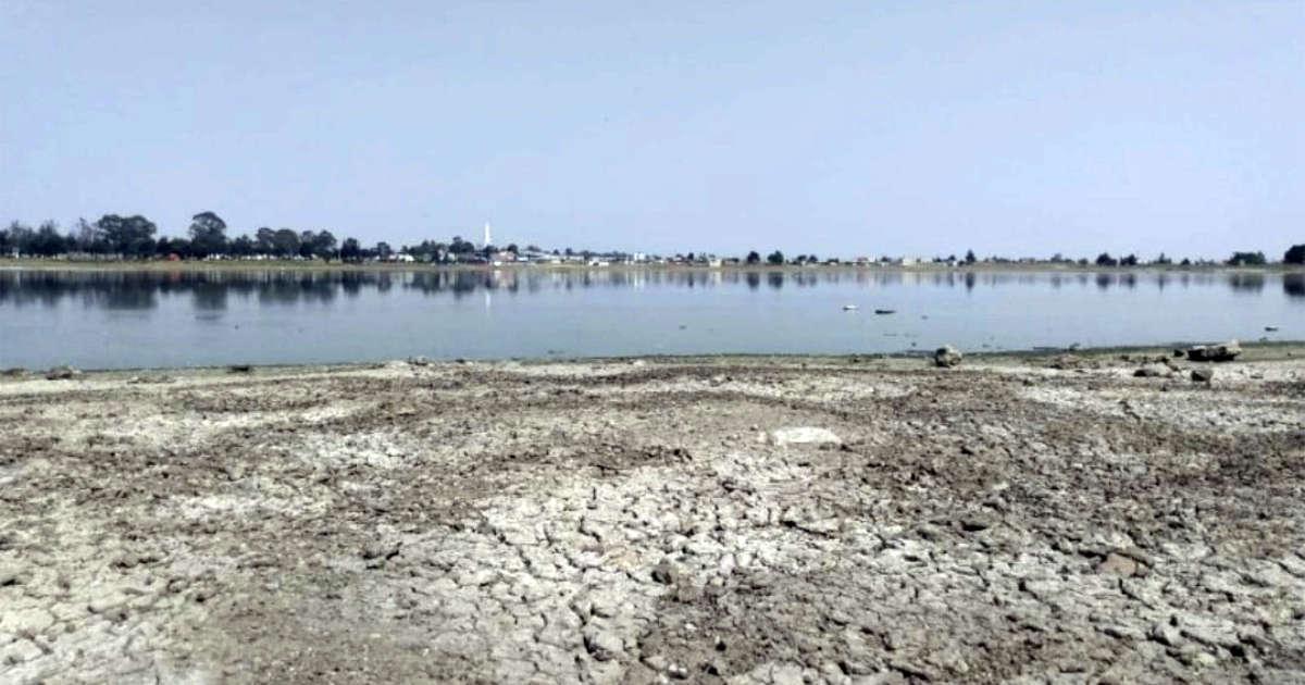 Laguna seca al norte de Toluca, ahora es un basurero árido