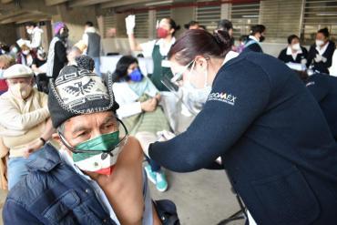 Toluca reitera que el trámite de la vacuna es gratuito