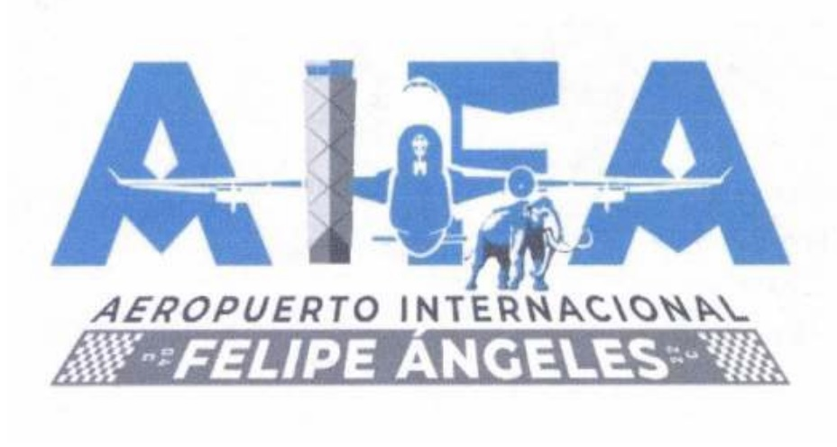 Logo Original del Aeropuerto Felipe Ángeles