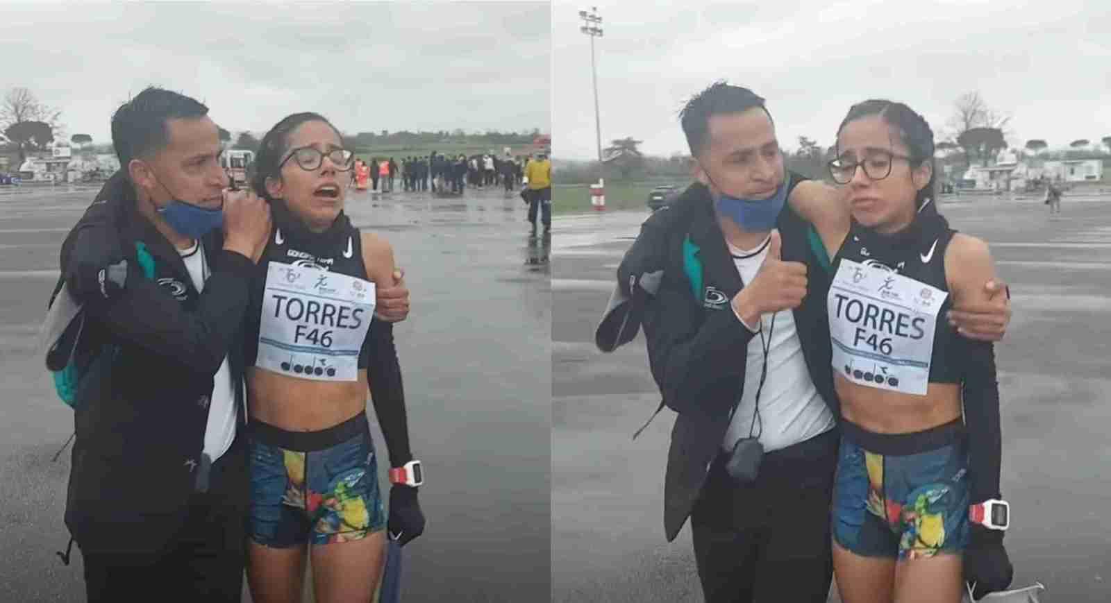 Atleta mexicana consigue tiempo para juegos olímpicos
