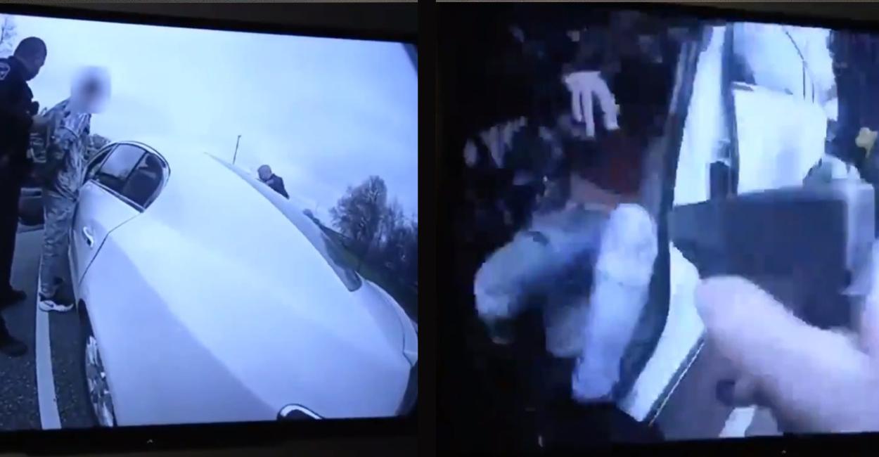 Policía dispara a joven