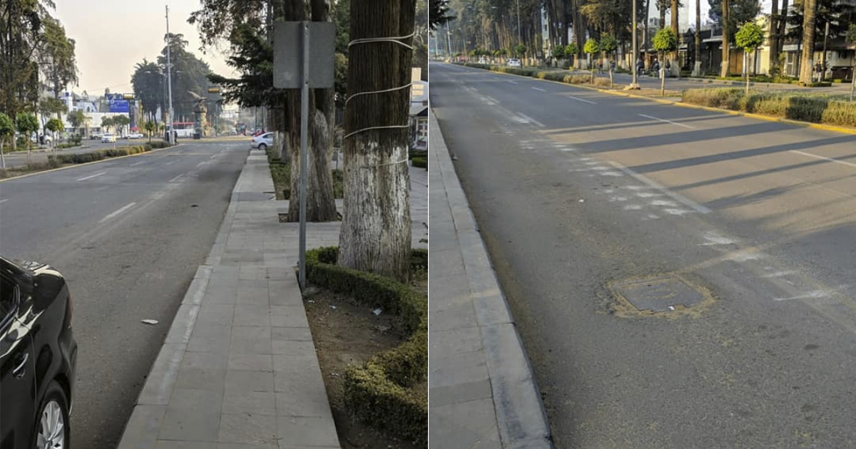 Reanudan ciclovía en Toluca tras haber suspendido su construcción