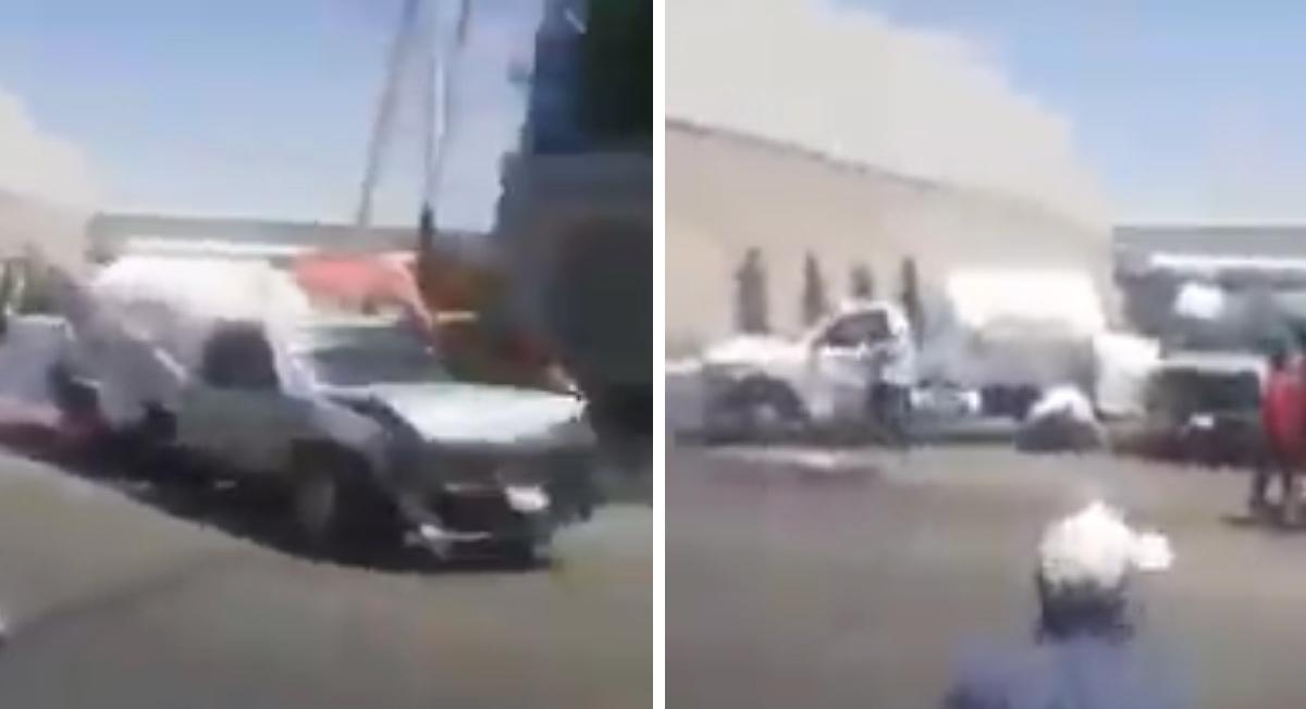 Texcoco: «Gaseros» protagonizan enfrentamiento campal || VIDEO