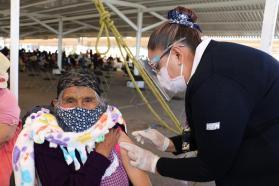 el 12 de abril comienza la aplicacion de la segunda dosis de la vacuna covid en Toluca