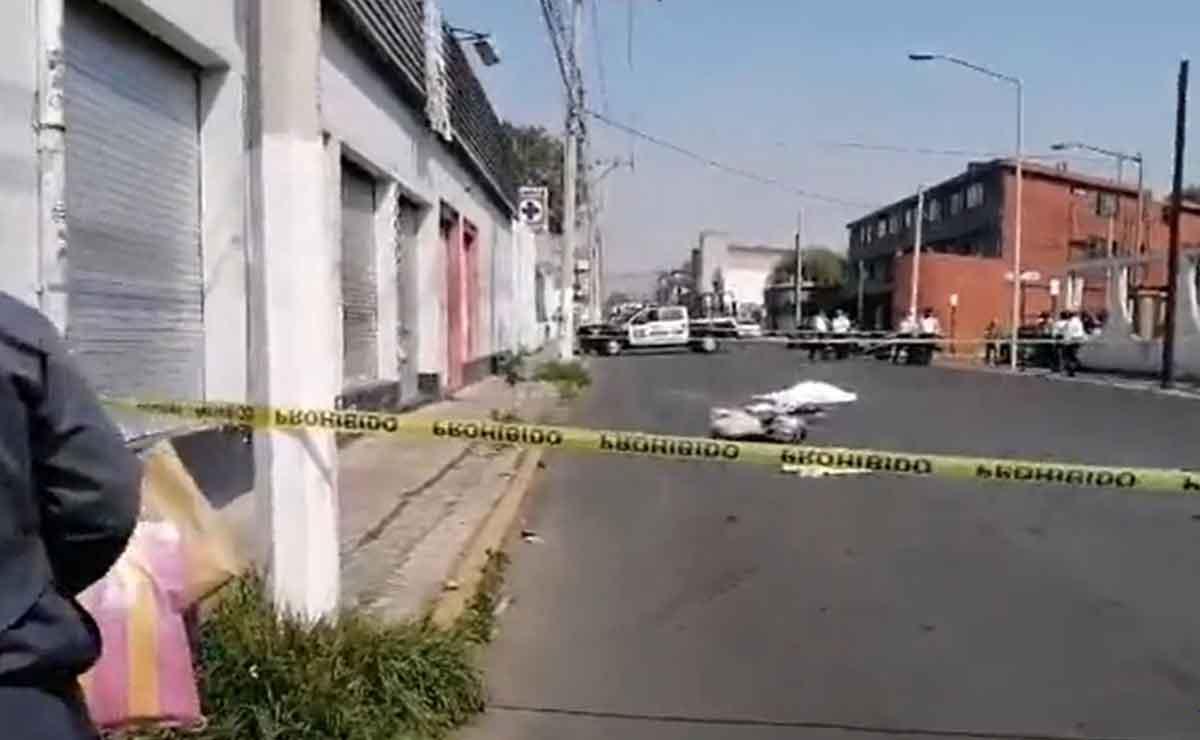 abuelita pierde la vida por camión en toluca