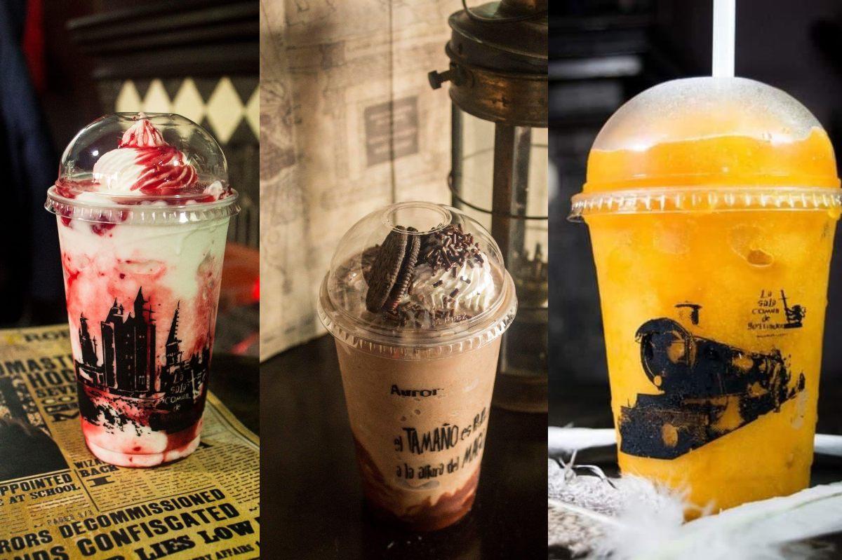Esta cafetería ofrece café con una temática de Harry Potter