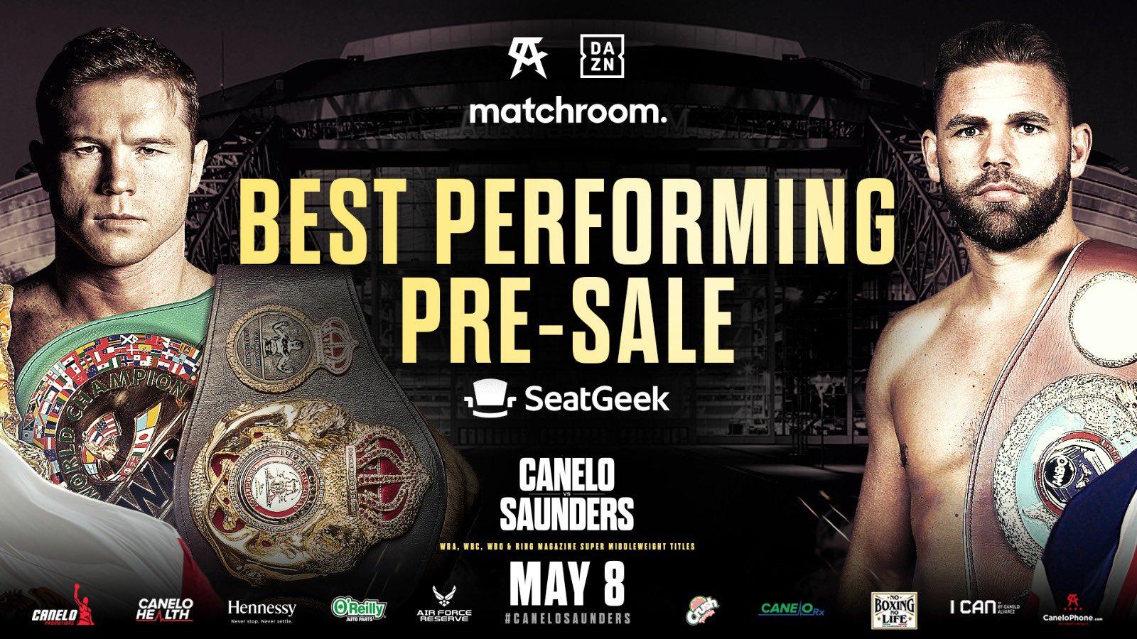 La próxima pelea del Canelo Álvarez será el próximo 8 de mayo
