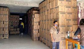 Clausuran bodega que entregaba despensas del gobierno estatal