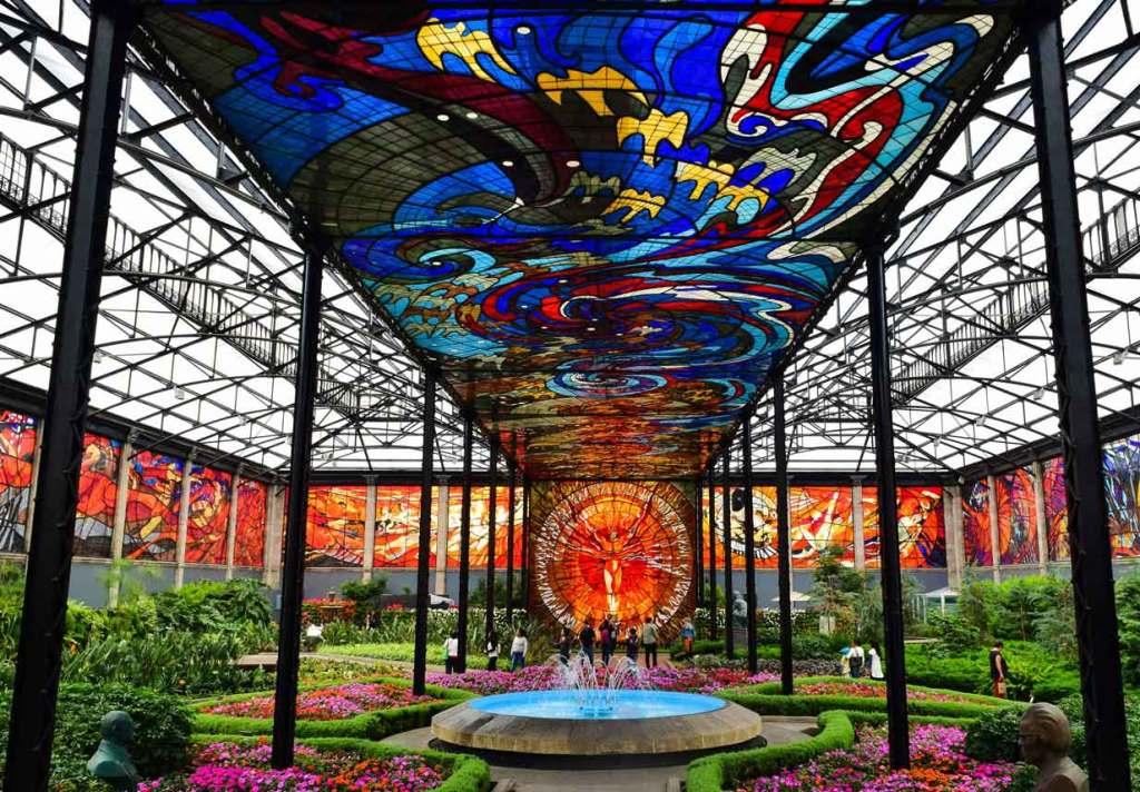 Imagen principal de portada del Cosmovitral Jardín Botanico para Toluca la Bella